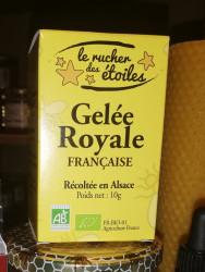 Gelée Royale BIO d'Alsace...