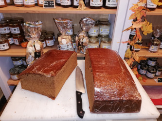 Pain d'épices traditionnel...