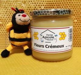 Miel toutes fleurs crémeux